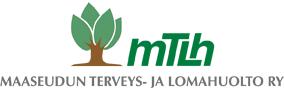 MTLH Maaseudun terveys- ja lomahuolto ry. -logo